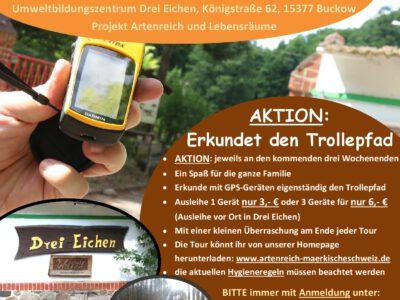 AKTION – GPS-Wandern in Drei Eichen